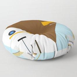 Geo Balance Floor Pillow