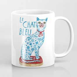 Le Chat Bleu Coffee Mug