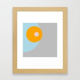 Eclipse tripple Framed Art Print