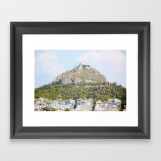 Athens in peace Framed Art Print