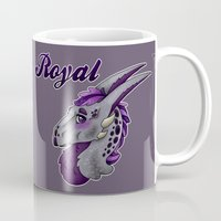 royal Mugs featuring Royal by dewking