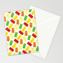Gummy Bear Pattern Stationery Cards