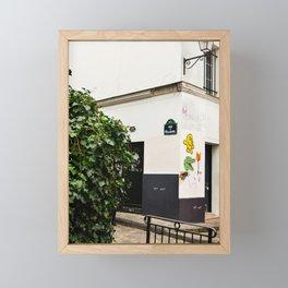 Alleyways of Paris Framed Mini Art Print