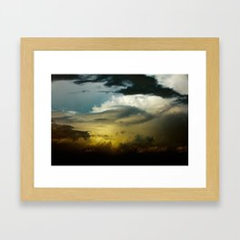 Gloomy Sky 0008 Framed Art Print