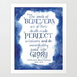 The Souls of Believers Art Print