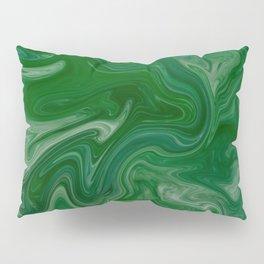 Malachite Marble Pillow Sham
