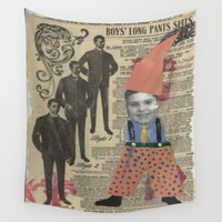 suits Wall Tapestries featuring Suits by Marnie