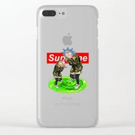 Supreme Rick Clear iPhone Case