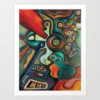 phish Art Prints featuring Phish by Dena Nord