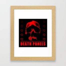 Death Panels Framed Art Print