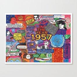1957 Canvas Print