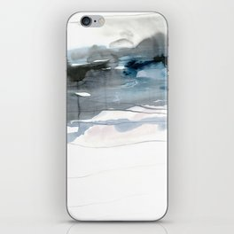 dissolving blues 2 iPhone Skin