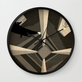 Hitchcock's Vertigo Wall Clock