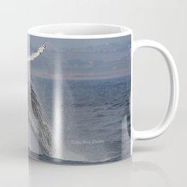 Breaching humpback whale in Monterey Coffee Mug