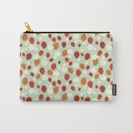 Strawberry Blossom Carry-All Pouch