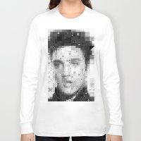 elvis Long Sleeve T-shirts featuring Elvis by Artstiles