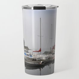 Boats of Morro Bay, Ca Travel Mug