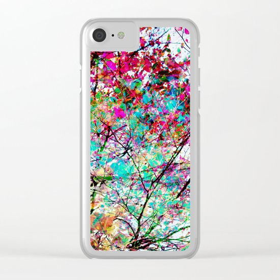 Autumn 8 Clear iPhone Case
