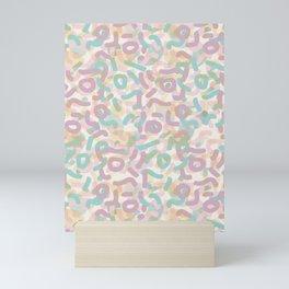 Funny Mess #society6 #abstractart Mini Art Print
