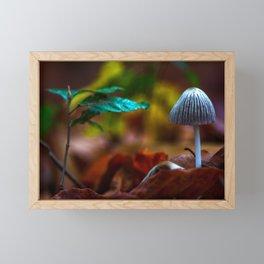 Pure nature Framed Mini Art Print
