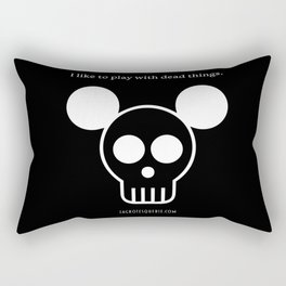 Play with Dead Things Rectangular Pillow