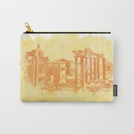 Rome imperial forums Carry-All Pouch