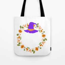 Basic Fall Witch Autumn Halloween Tote Bag