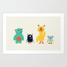 Saturday Art Print