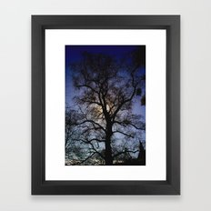 Before the Witches Come Framed Art Print