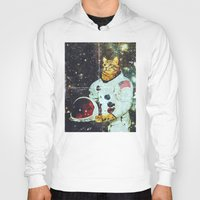the xx Hoodies featuring xX SPACE CAT Xx by Frankie White
