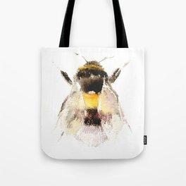 Bumblebee, fuzzy bee Tote Bag