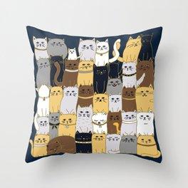 The Glaring - Parisian Palette Throw Pillow