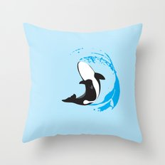 Oh Whale! | Animals Throw Pillow