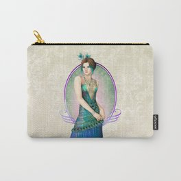 Peacock Gown Carry-All Pouch