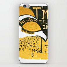 Follow Bird iPhone & iPod Skin