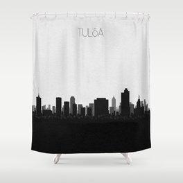City Skylines: Tulsa Shower Curtain