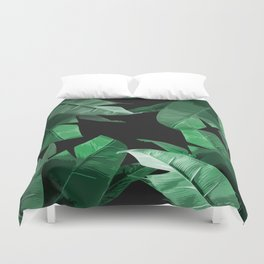 Tropical Palm Print #3 Duvet Cover