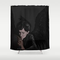 ahs Shower Curtains featuring FRANCES CONROY. by zinakorotkova