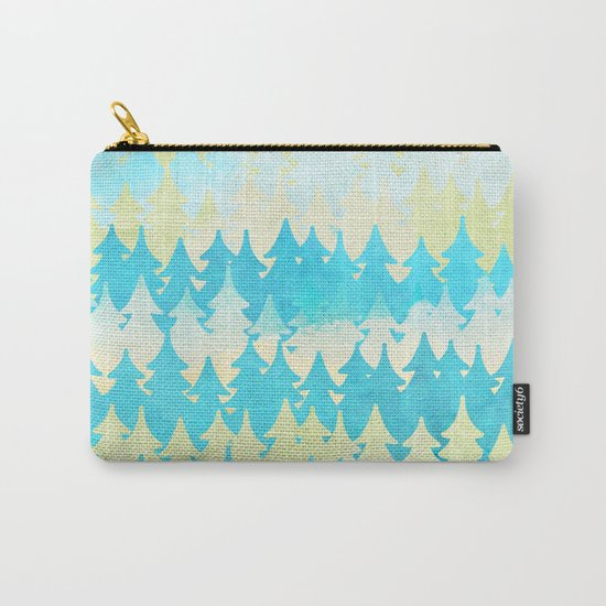 The secret forest -on a wonderful day - Abstract tree pattern Carry-All Pouch