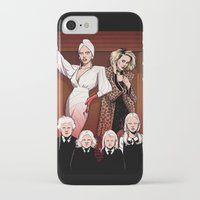 ahs iPhone & iPod Cases featuring AHS Hotel by David M. Buisán