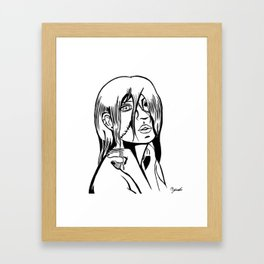 One Eyed Ghoul Framed Art Print