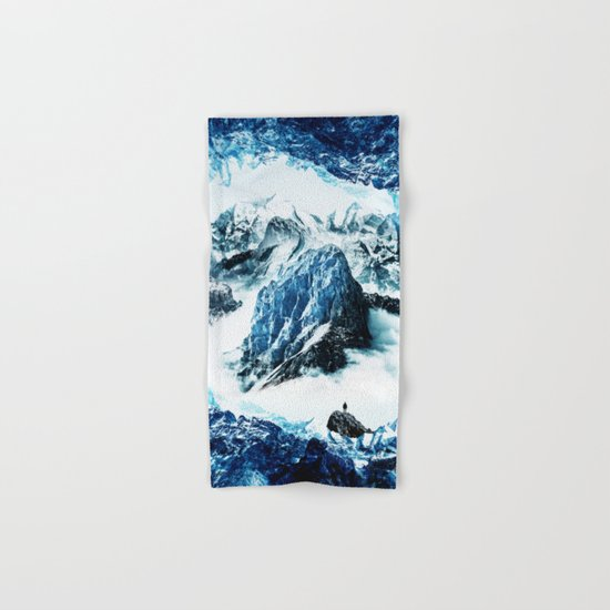 Frozen isolation Hand & Bath Towel