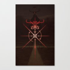 Sigil of the Crossroads Canvas Print