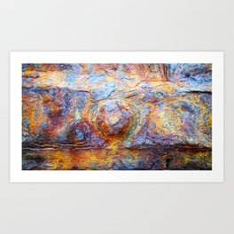 Steel 5085A - Bolt Art Print