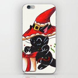 Santa Sorcery iPhone Skin