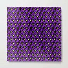Purple Freeman Armor Metal Print