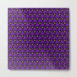 Purple Freeman Armor Metal Print