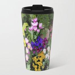 Floral Spectacular - Olbrich Botanical Gardens Spring Flower Show, Madison, WI Travel Mug