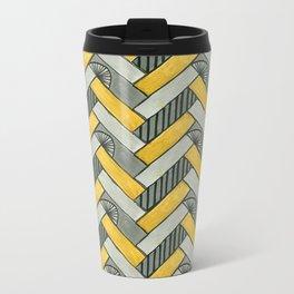 Deco Parquet Metal Travel Mug