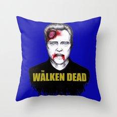 THE WALKEN DEAD Throw Pillow
